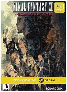 Final Fantasy XII The Zodiac Age Steam CD Key Pc Steam Código De Resgate Digital
