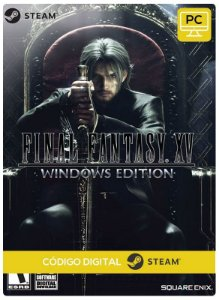 FINAL FANTASY XV Windows Edition Steam CD Key Pc Steam Código De Resgate Digital