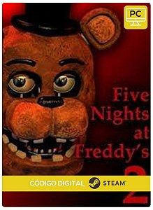 Five Nights at Freddy's 2 Steam CD Key Pc Steam Código De Resgate Digital