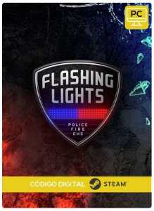 Flashing Lights - Police Fire EMS  Steam CD Key Pc Steam Código De Resgate Digital
