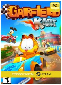 Garfield Kart steam  CD Key Pc Steam Código De Resgate Digital