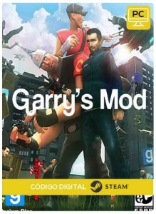 Garry's Mod steam  CD Key Pc Steam Código De Resgate Digital