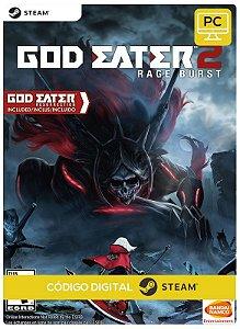 GOD EATER 2 Rage Burst  steam  CD Key Pc Steam Código De Resgate Digital