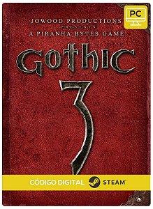 Gothic 3 steam  CD Key Pc Steam Código De Resgate Digital