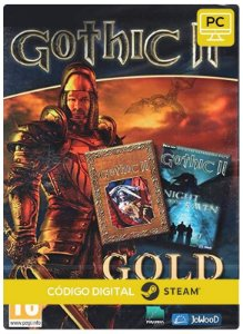 Gothic II: Gold  Edition Steam  CD Key Pc Steam Código De Resgate Digital