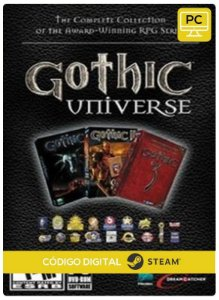 Gothic Universe Edition Steam  CD Key Pc Steam Código De Resgate Digital
