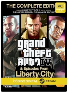 Grand Theft Auto IV Complete Edition  gta 4Steam  CD Key Pc Steam Código De Resgate Digital