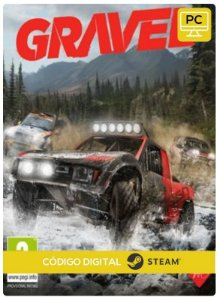 Gravel Steam  CD Key Pc Steam Código De Resgate Digital