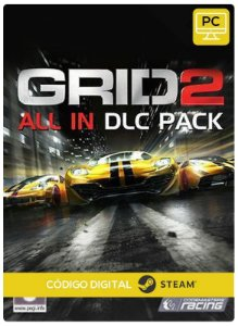 GRID 2 All In DLC Pack Steam  CD Key Pc Steam Código De Resgate Digital