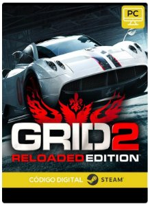 GRID 2 Reloaded Steam  CD Key Pc Steam Código De Resgate Digital