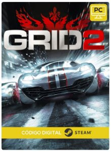 GRID 2 Steam  CD Key Pc Steam Código De Resgate Digital