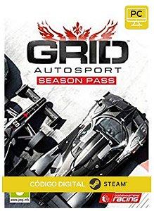 GRID Autosport - Season Pass  Steam  CD Key Pc Steam Código De Resgate Digital