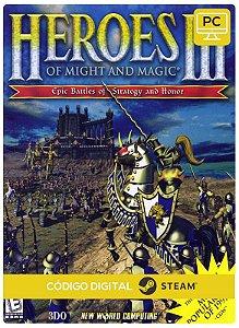 Heroes of Might & Magic III - HD Edition Steam  CD Key Pc Steam Código De Resgate Digital