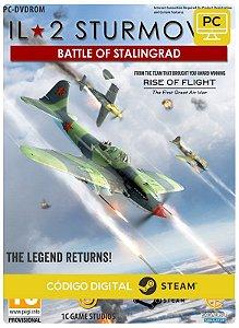 IL-2 Sturmovik: Battle of  Stalingrad Steam  CD Key Pc Steam Código De Resgate Digital