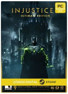 Injustice 2 - Ultimate pack DLC  Steam  CD Key Pc Steam Código De Resgate Digital