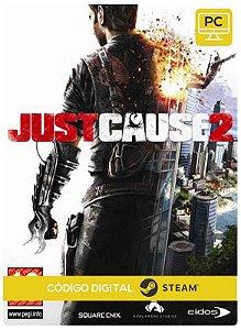 Just cause 2 Steam Pc Código De Resgate Digital