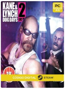 Kane & Lynch 2 Dog Days  Steam Pc Código De Resgate Digital
