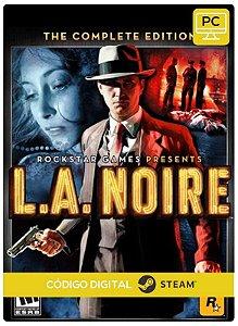 L.A. Noire: The Complete Edition Steam Pc Código De Resgate Digital