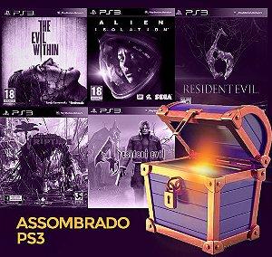 Pacote Especial PS3 - Assombrado -  The evil whitin, Dead Island Riptide, Alien Isolation,  resident evil 4, resident evil 6