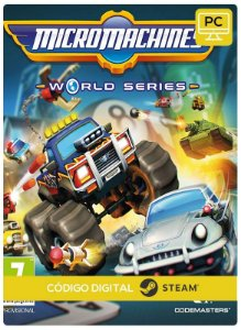 Micro Machines World Series  Pc Steam Código de Resgate Digital