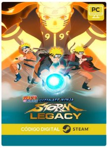 Naruto Shippuden Ultimate Ninja Storm Legacy Steam Pc Steam Código De Resgate Digital