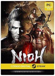 Nioh Complete Edition Steam Pc Código De Resgate Digital