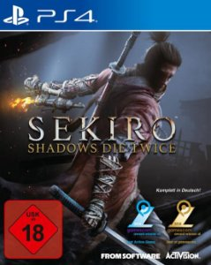 Sekiro Shadows Die Twice PS4 PSN Mídia Digital
