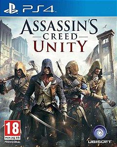 Assassin's Creed Unity PS4 PSN Mídia Digital