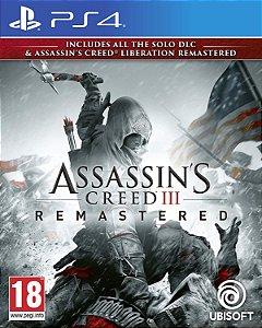 Assassin's Creed III: Remastered PS4 PSN Mídia Digital