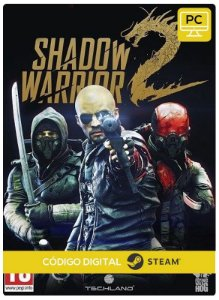 Shadow Warrior 2  Pc Código De Resgate Digital