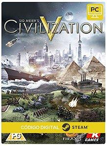 Sid Meier's Civilization V  Pc Código De Resgate Digital