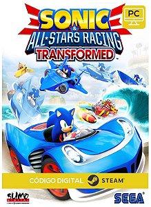Sonic & All-Stars Racing Transformed  Steam Pc Código De Resgate Digital
