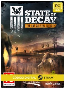 State of Decay: Year One Survival  Steam Pc Código De Resgate Digital