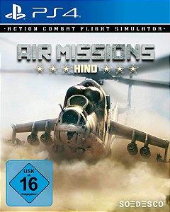 Air Missions Hind PS4 PSN Mídia Digital