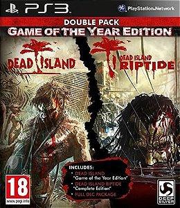 Dead Island Game Of The Year + Riptide Dlc  Ps3  PSN Mídia Digital