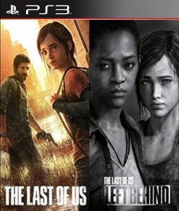 The last of us + left behind conjunto  PS3 PSN Mídia Digital