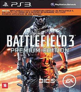 Battlefield 3 Premium Edition PS3 PSN MÍDIA DIGITAL