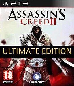 Assassin's Creed II 2 Ultimate Edition PS3 PSN MÍDIA DIGITAL