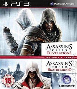Assassins Creed 1 + 2  PS3 PSN MÍDIA DIGITAL