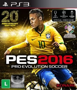 PES 16 Pro Evolution Soccer 2016 PS3  PSN Mídia Digital