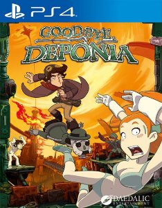 Goodbye Deponia PS4 PSN Mídia Digital