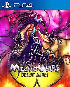 Mecho Wars: Desert Ashes PS4 PSN Mídia Digital
