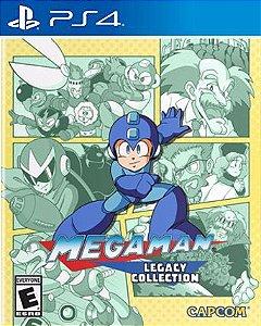 Mega Man Legacy Collection  PS4  PSN Mídia Digital