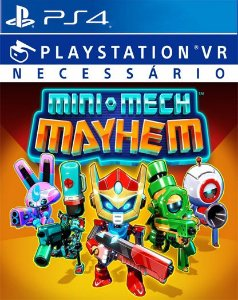 Mini-Mech Mayhem VR PS4 PSN Mídia Digital