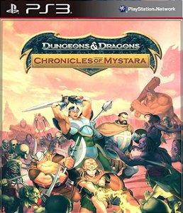 DUNGEONS E DRAGONS CHRONICLES OF MYSTARA  PS3 PSN Mídia Digital Promoção