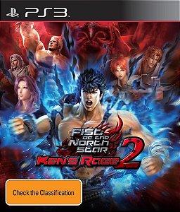fist of the north star kens rage 2  PS3 PSN Mídia Digital
