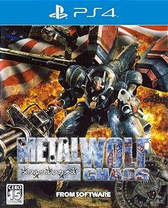 Metal Wolf Chaos XD PS4 PSN Mídia Digital