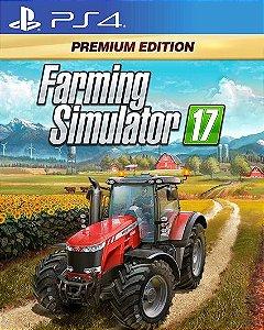 Farming Simulator 17 PREMIUM EDITION PS4 PSN Mídia Digital