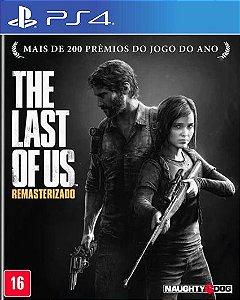 The Last Of Us PS4  PSN Remastered Mídia Digital
