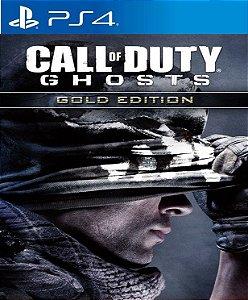 Call of Duty®: Ghosts Edição  GOLD PS4 PSN Mídia Digital